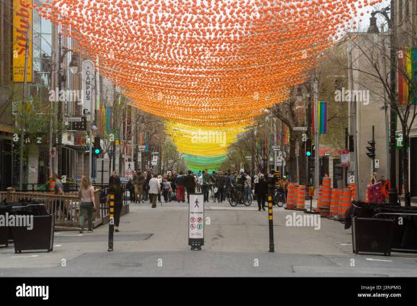 St. Catherine Street Montreal Gay