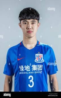 Portrait Of Chinese Soccer Player Li Jianbin Shanghai