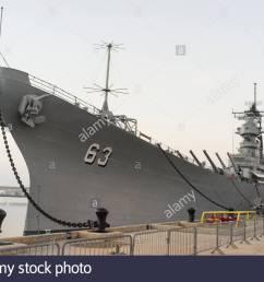 u s s missouri bb 63 an iowa class battleship ford island pearl harbor [ 1300 x 953 Pixel ]