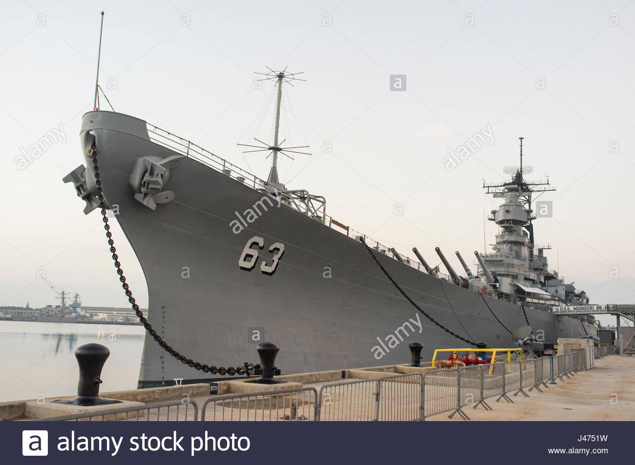 hight resolution of u s s missouri bb 63 an iowa class battleship ford island pearl harbor