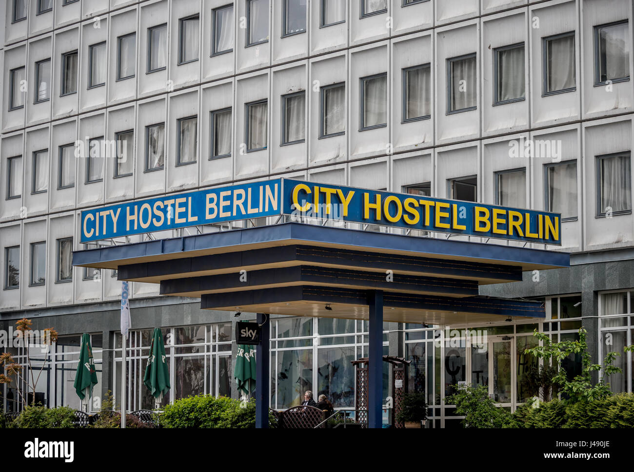 Berlin Germany 10th May 2017 View Of The City Hostel
