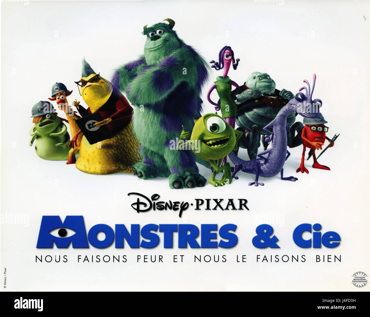 https www alamy com stock photo monsters inc year 2001 usa director peter docter david silverman animation 140481141 html