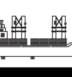 cargo ship containers export cranes industrial [ 1300 x 772 Pixel ]