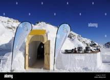 Germany Bavaria Zugspitze Igloo Village