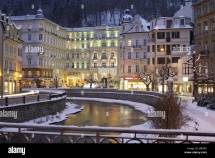 Czech Republic Karl' Bath Grandhotel 'pupp' Dusk