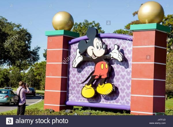 Mickey Mouse Cartoon Stock &