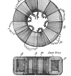 toroidal core transformer rankin kennedy electrical installations vol ii 1909  [ 915 x 1390 Pixel ]