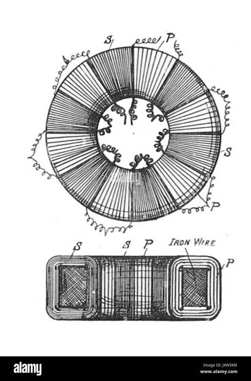 small resolution of toroidal core transformer rankin kennedy electrical installations vol ii 1909
