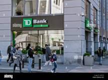 Td Bank Sign Logo Stock &