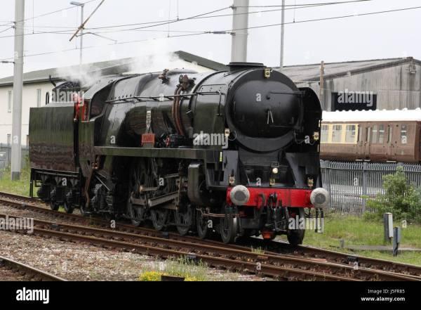 Southern Region Merchant Navy Class Steam Locomotive