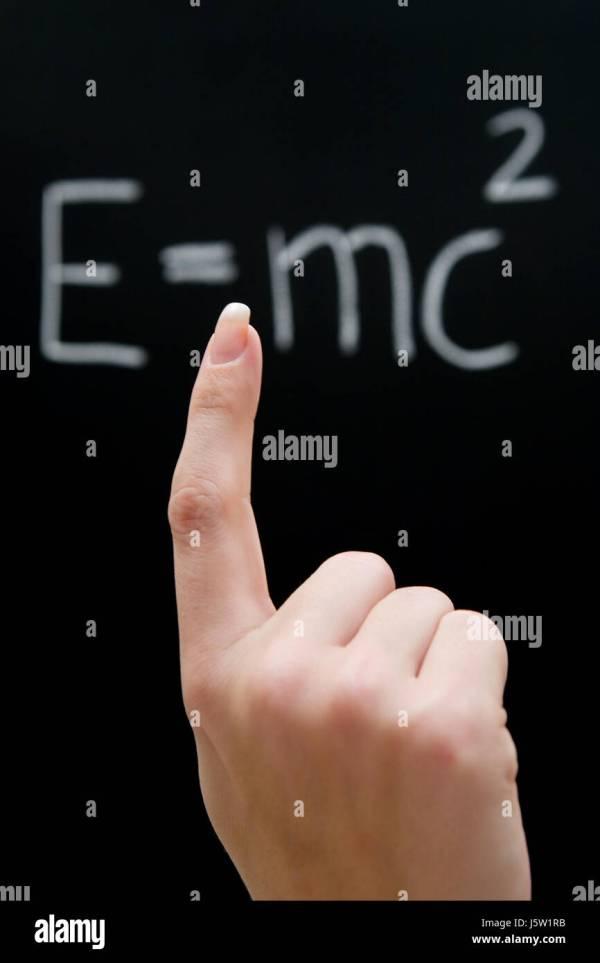 Theory Of Relativity Physics Stock &