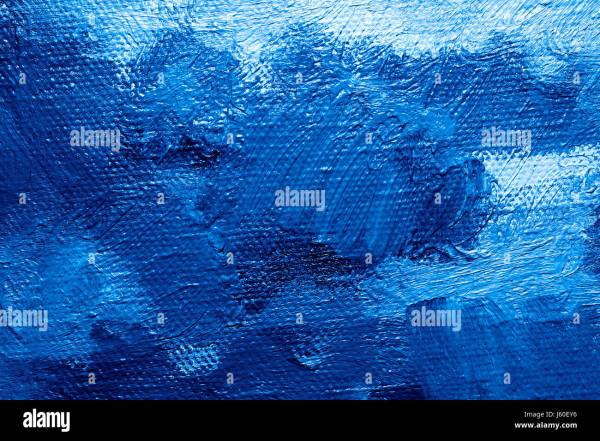 Blue Art Painting Paint Wallpaper Backdrop Background Color Oil Stock 141382618 - Alamy
