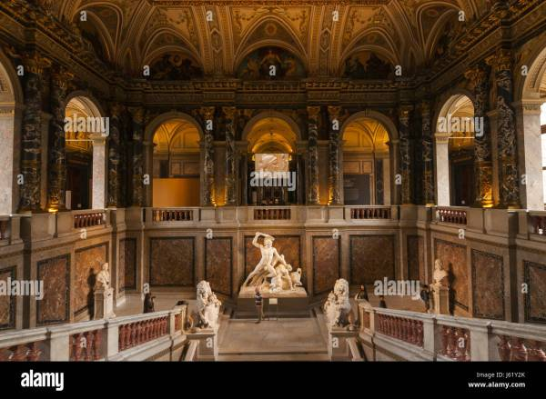 Vienna Museum of Fine Arts Interior