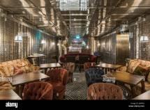 Cocktail Bar In Safety Deposit Vault. Ned
