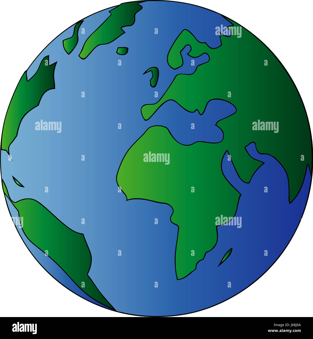 Globe Planet Earth World Continents Atlas Map Of The World