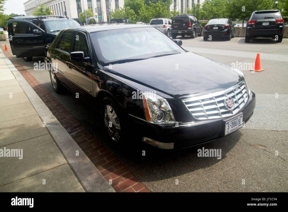 medium resolution of state department armored cadillac dts deville sedan vehicle washington dc usa stock image