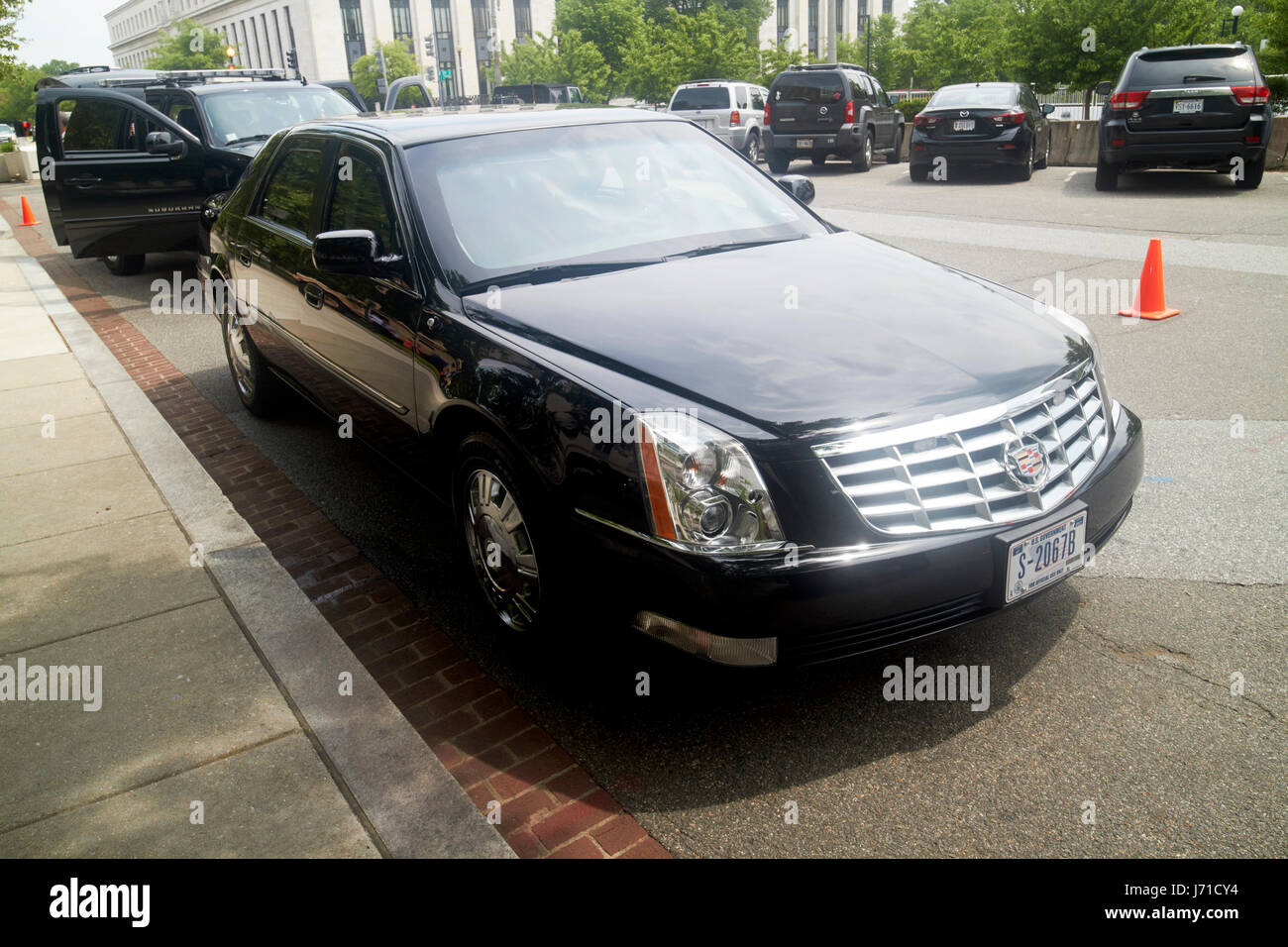 hight resolution of state department armored cadillac dts deville sedan vehicle washington dc usa stock image