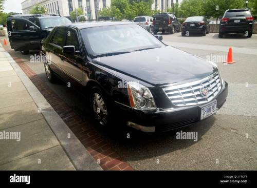 small resolution of state department armored cadillac dts deville sedan vehicle washington dc usa stock image