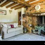 Cosy Sitting Room With Inglenook Fireplace Exposed Brick