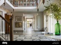 Reconfigured Internal Mezzanine With Bold Tiled Floor