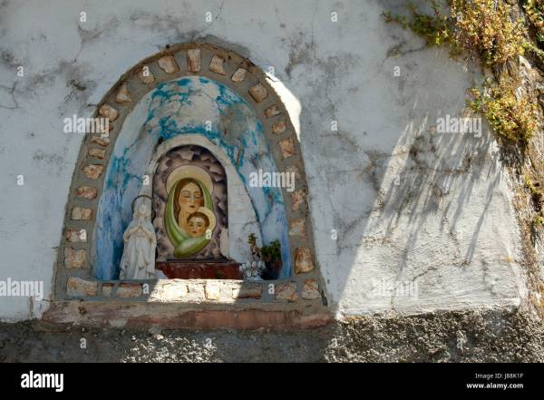 Grotto Of Madonna Stock - Year of Clean Water