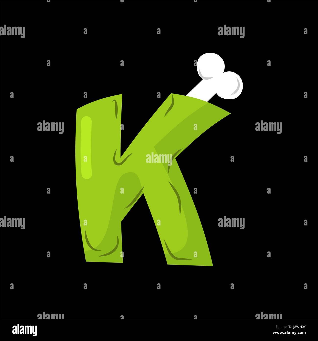Cartoon Letter K Stock Vector Images