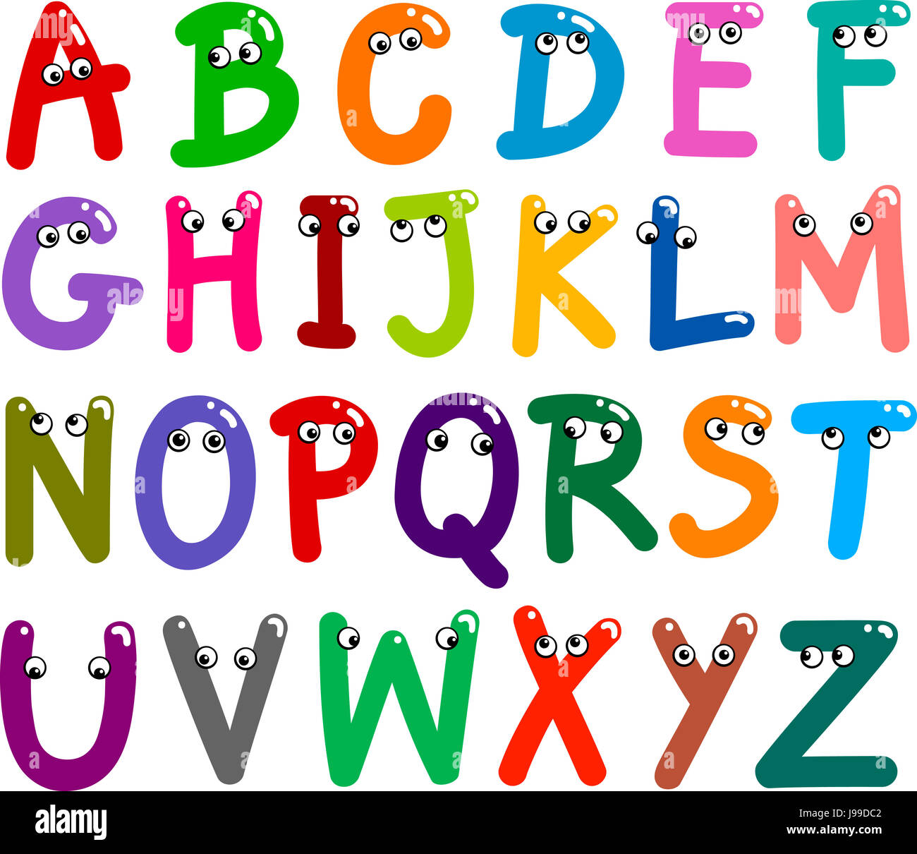 Education Letters Writing Font Typography Sign Alphabet Stock Photo