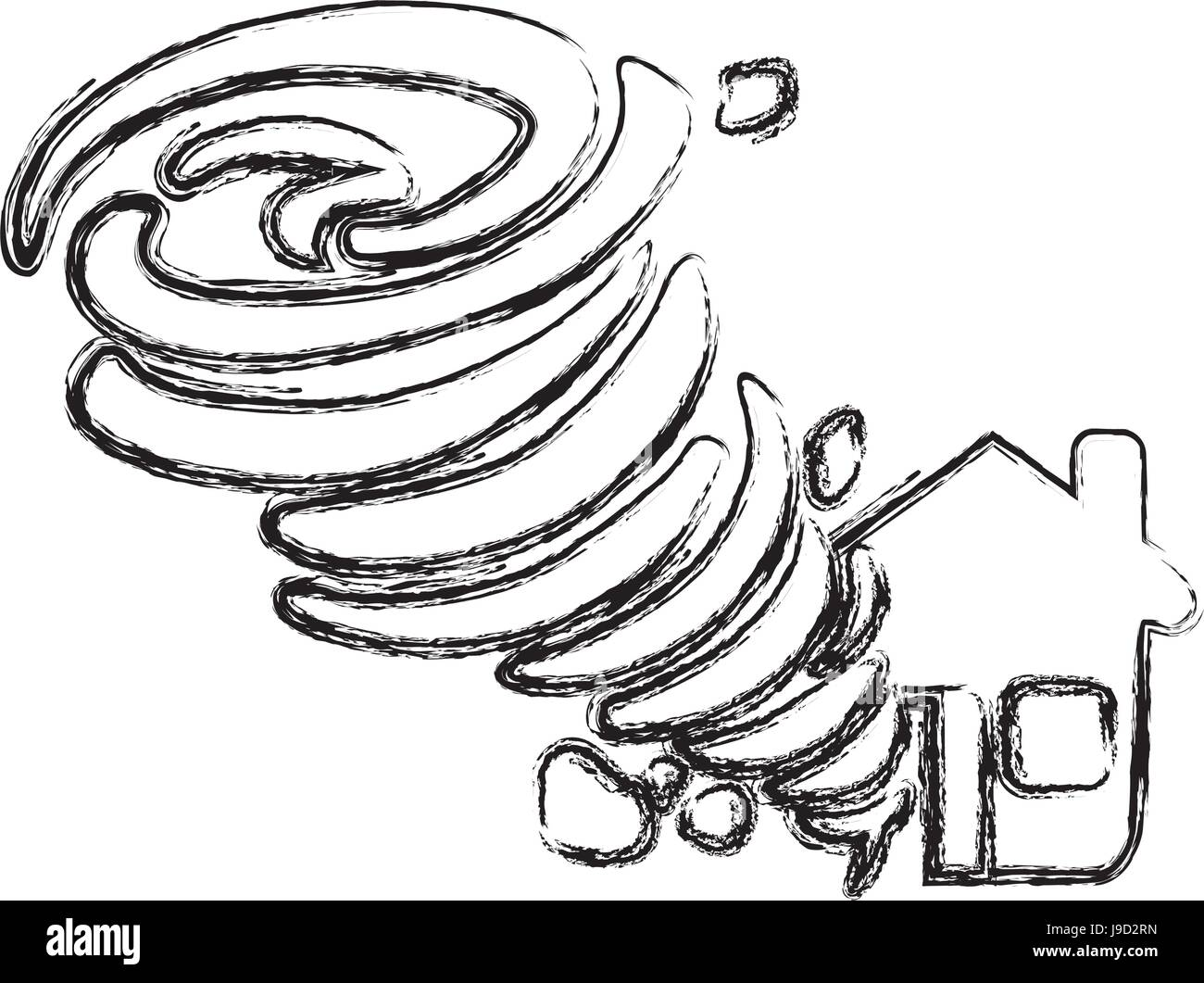 Tornado Cut Out Stock Images Amp Pictures