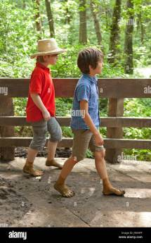 Mud Barefoot Boys