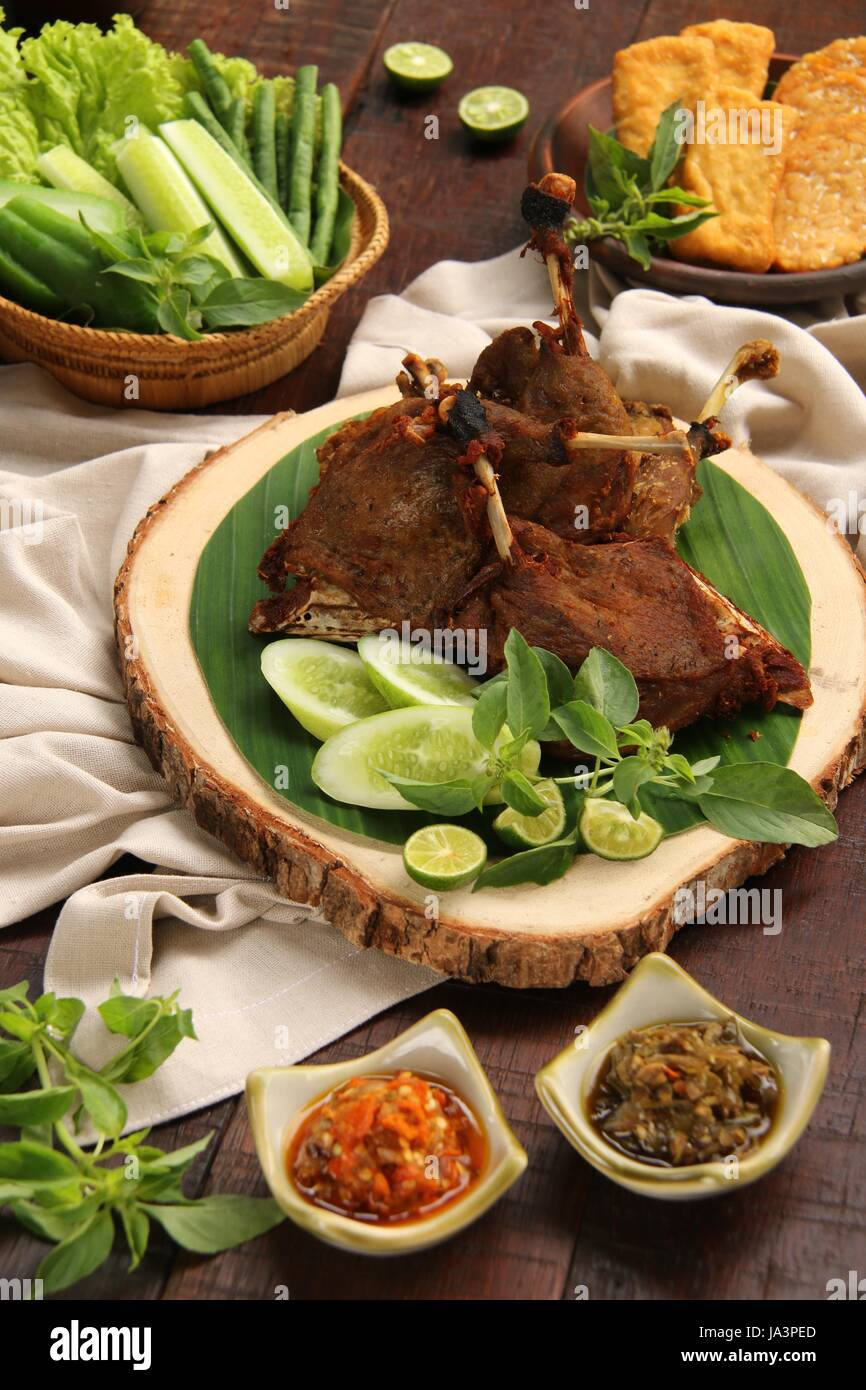 Bebek Goreng Png : bebek, goreng, Bebek, Goreng, Resolution, Stock, Photography, Images, Alamy