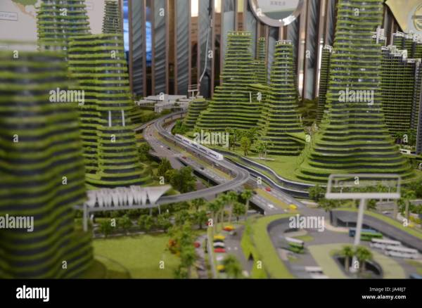 Forest City In Johor Bahru Malaysia. Apartments
