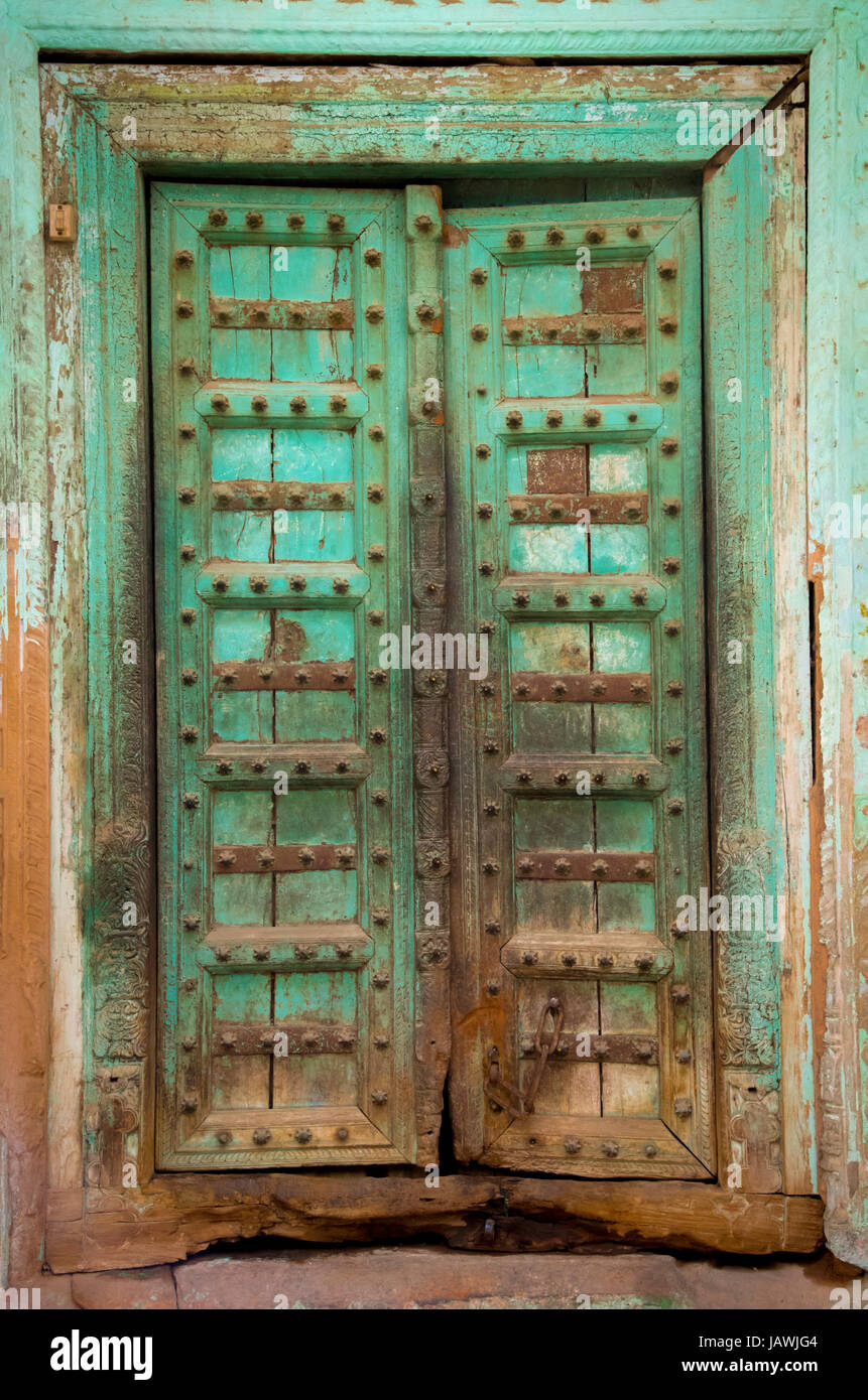 ornate door stock image image of indian asia decoration