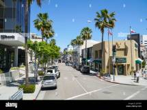 Street View In Beverly Hills Wilshire Blvd - Los