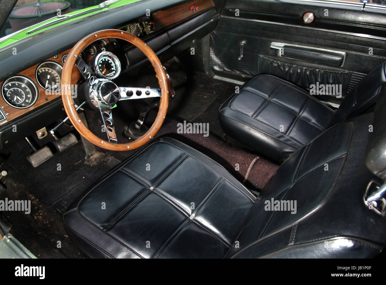 hight resolution of richard hammond and his 1969 dodge charger 440 r t stock image