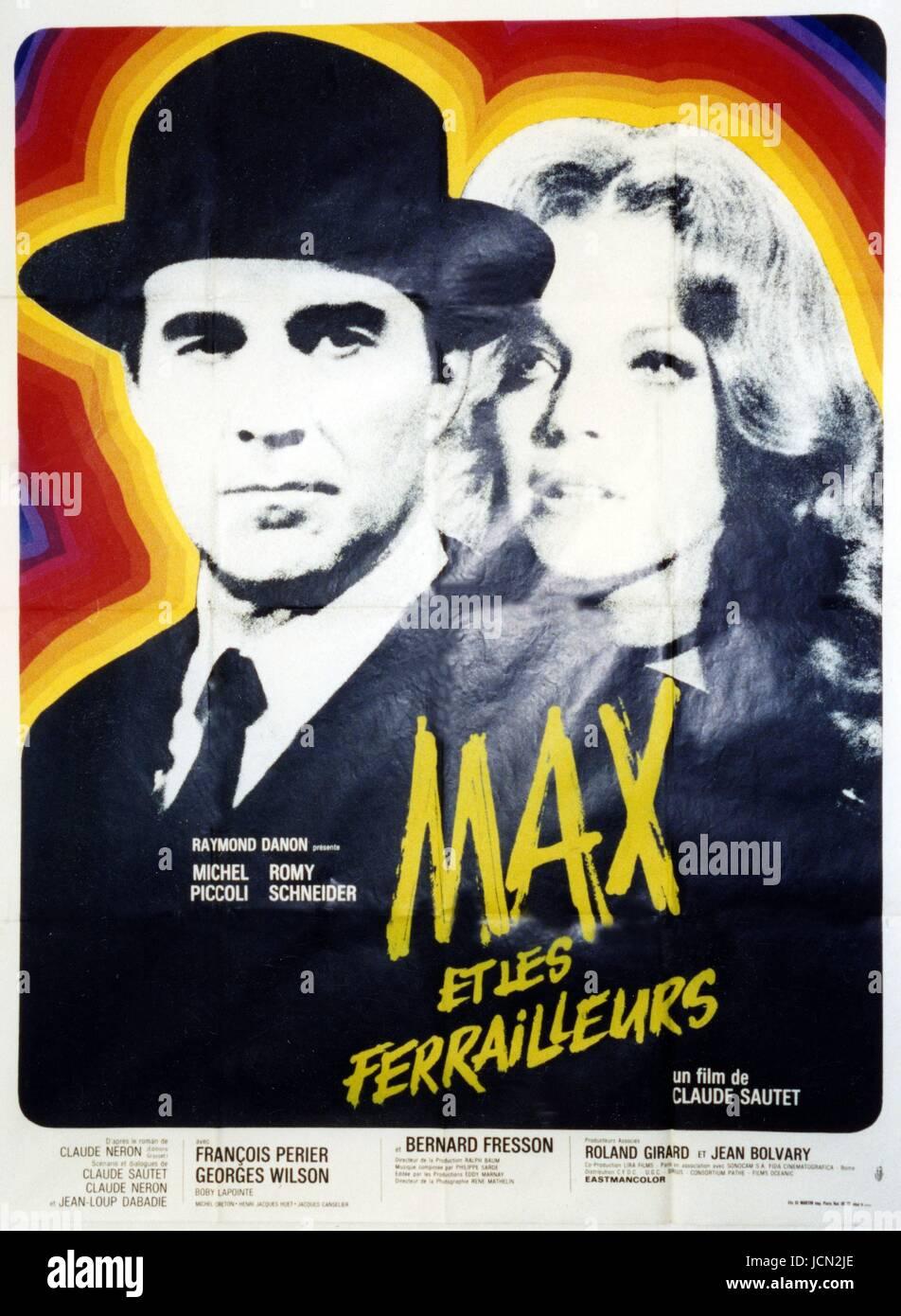 Film Max Et Les Ferrailleurs : ferrailleurs, Ferrailleurs, Stock, Photo, Alamy