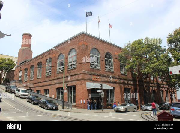 San Francisco Cable Car Museum Stock & - Alamy