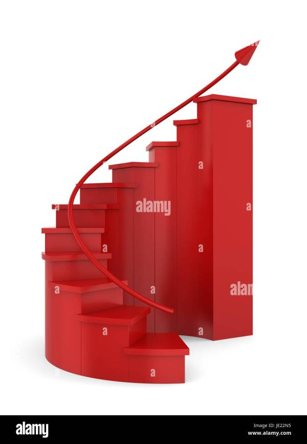 Spiral Stair Cut Stock & - Alamy