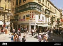 Island Malta Peninsula Sciberras Valletta Town