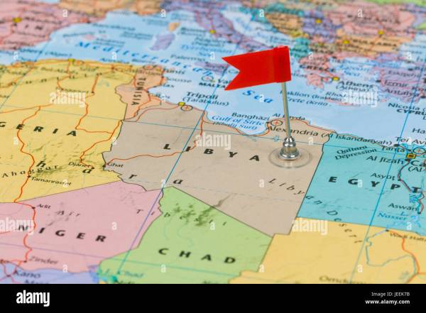 World Map Libya Egypt Imgurl