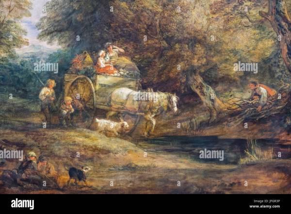 Painting Thomas Gainsborough Stock & - Alamy