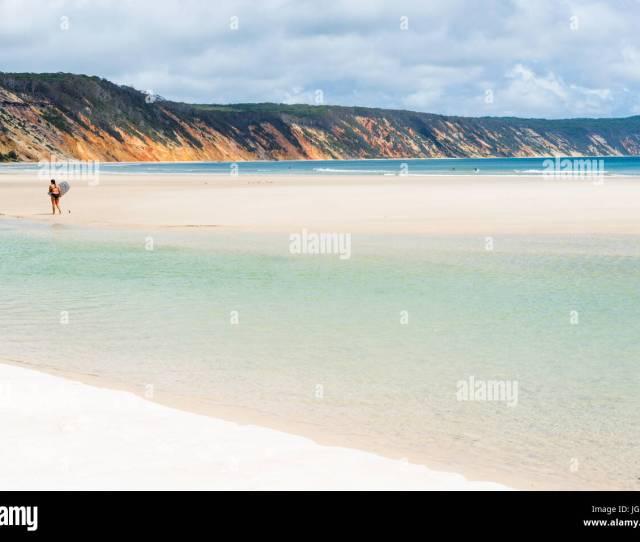 Double Island Point And The Coloured Sands Of Rainbow Beach Great Sandy National Park