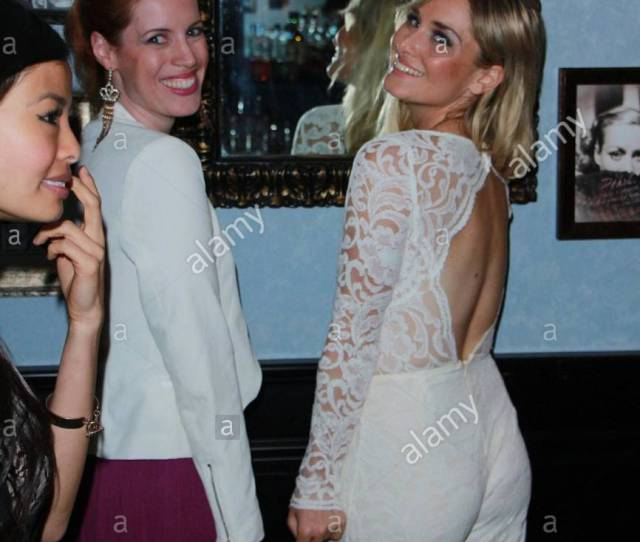 Actress Christina Collard Is Seen Partying It Up With The Cast Of The Girls Guide To Depravity Celebrating The Premiere Of Their 2nd Season On Cinemax