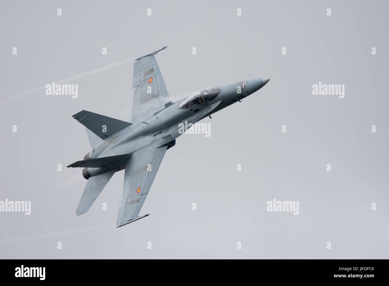 hight resolution of spanish airforce f18 hornet riat 2017 stock image