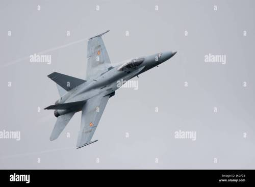 small resolution of spanish airforce f18 hornet riat 2017 stock image