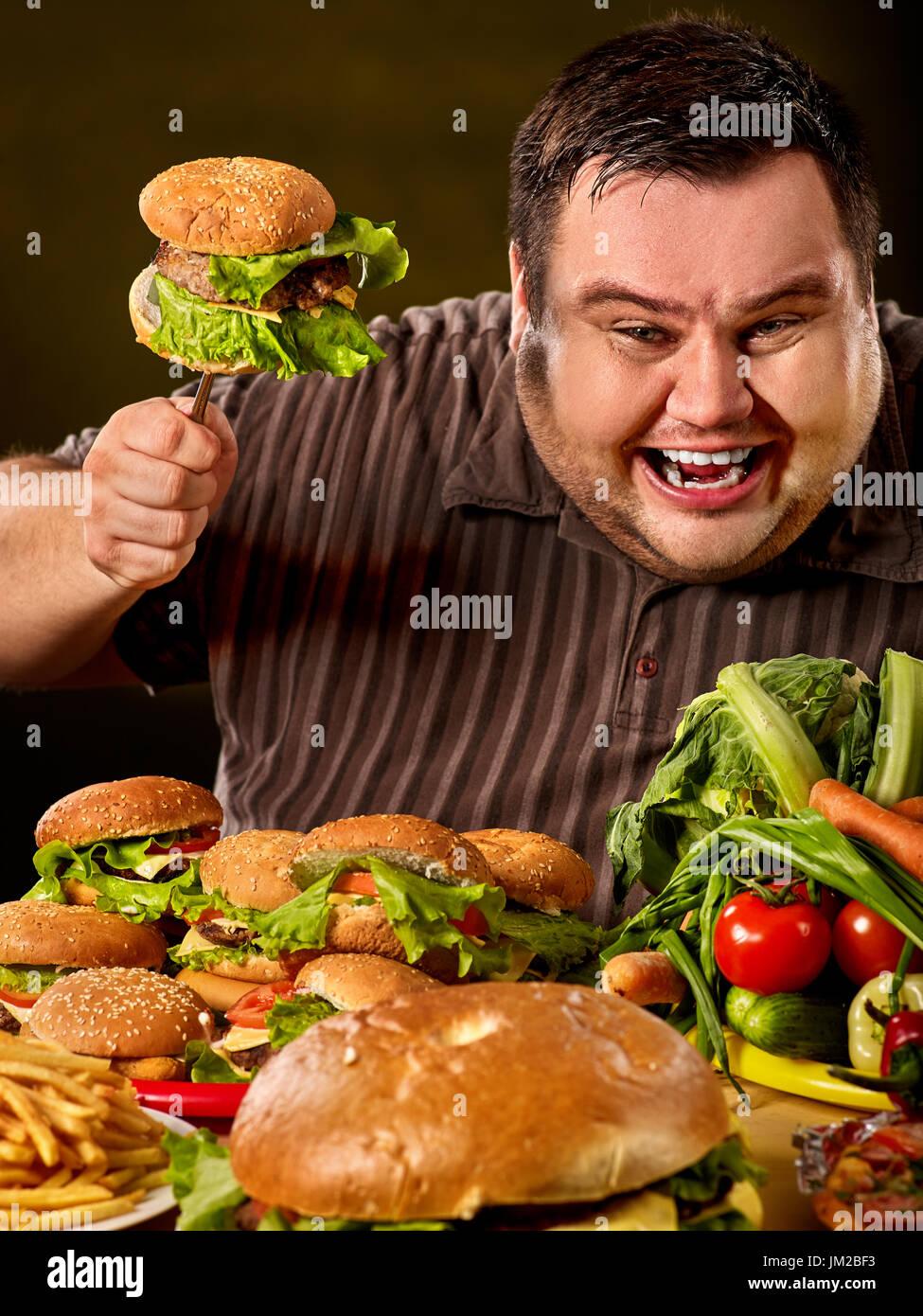 diet fat man makes