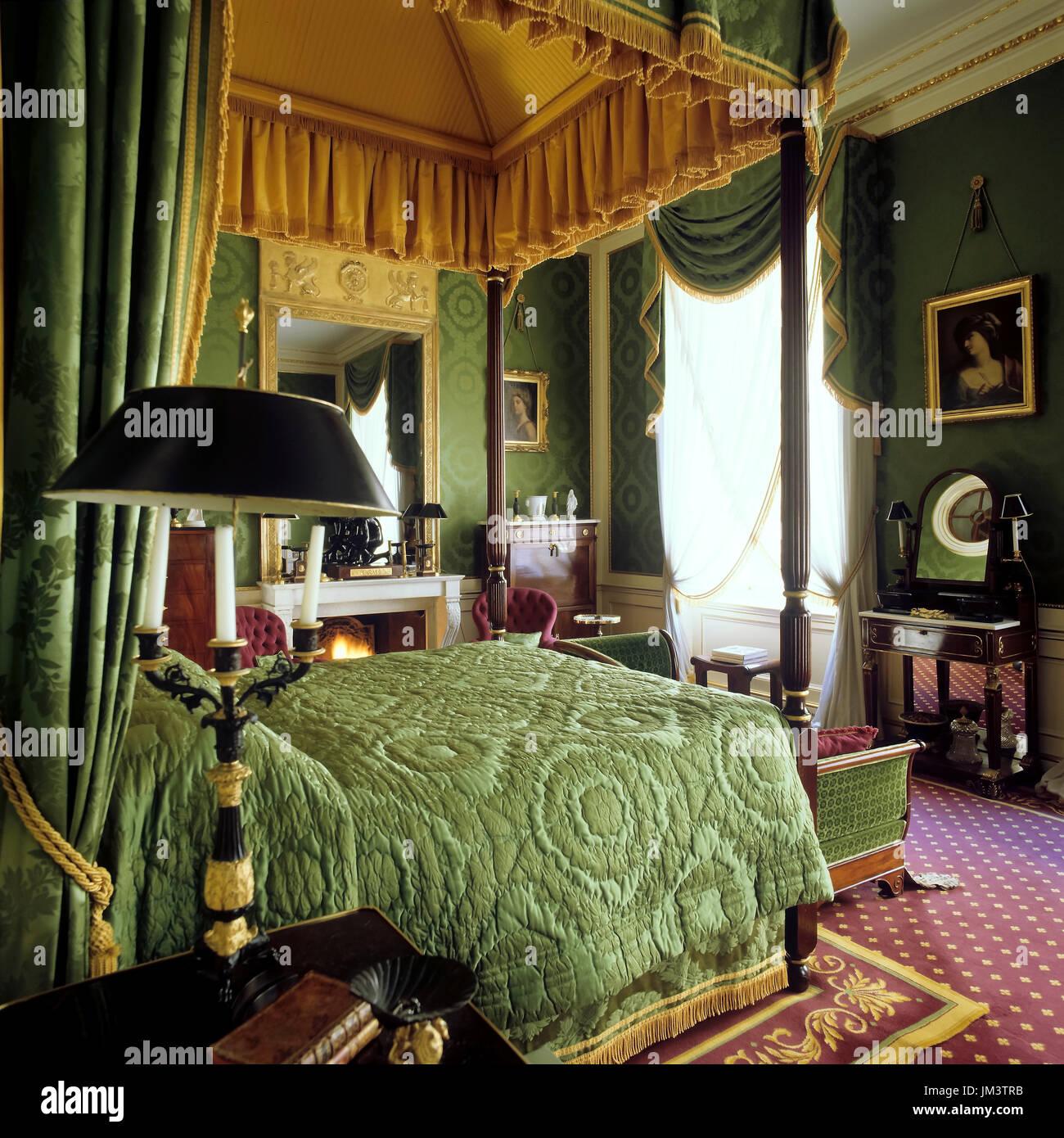 Victorian Bedroom Stock Photos  Victorian Bedroom Stock