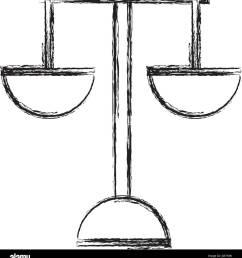 justice balance symbol stock vector [ 1217 x 1390 Pixel ]