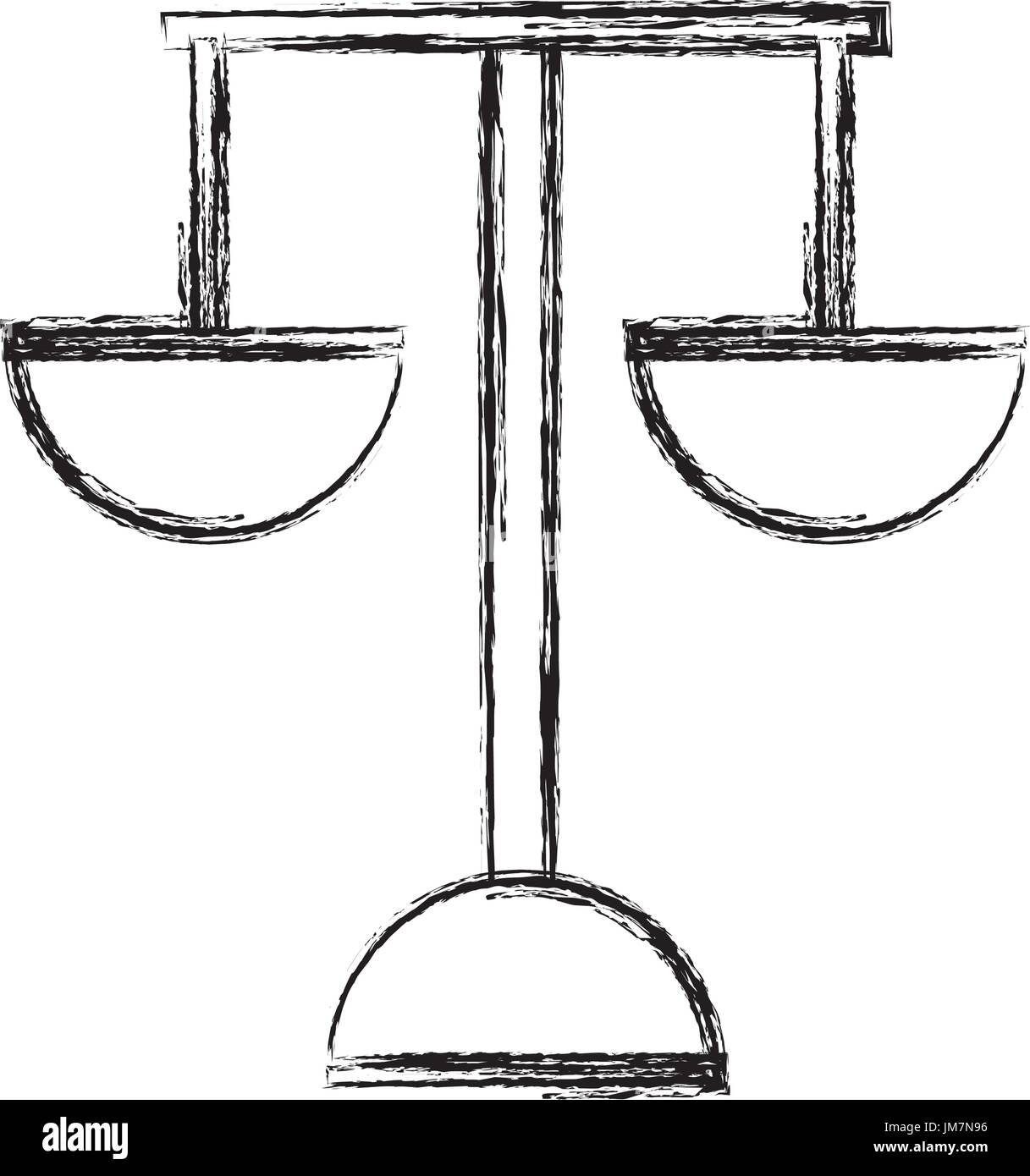 hight resolution of justice balance symbol stock vector