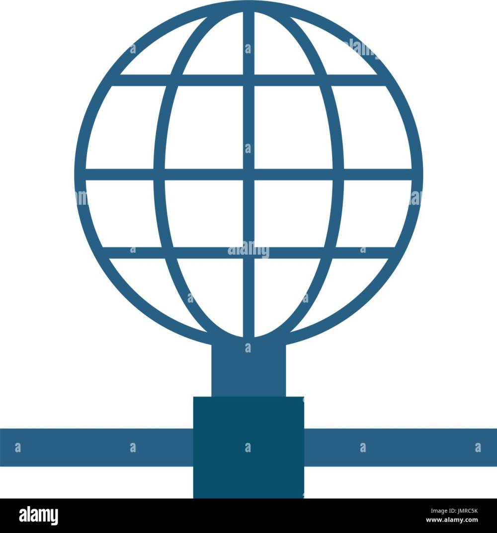 medium resolution of earth globe diagram global communications icon image