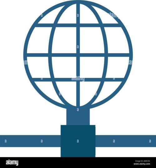 small resolution of earth globe diagram global communications icon image